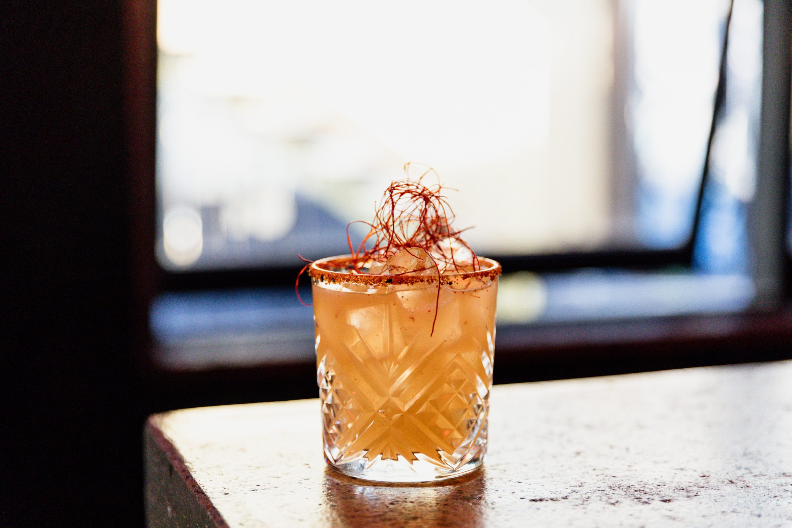 Made with reposado tequila, umeshu + our home made spicy agave syrup